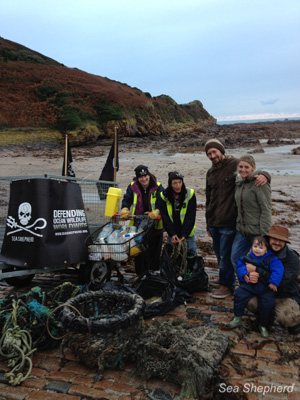 Our Channel Islands Chapter has collected a staggering 3,520 pounds  of trash so far.