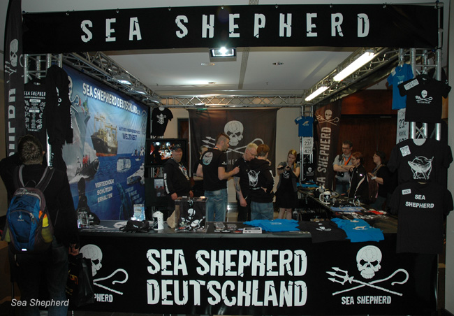 Sea Shepherd Germany Stall at Fedcon