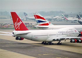 British Airways Virgin Atlantic