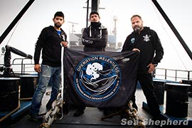 The Captains of Operation Relentless Photo: Eliza Muirhead