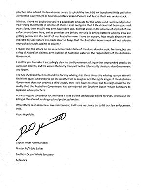 Peter Hammarstedt Open Letter To Greg Hunt Page 2