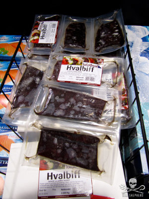 Minke whale meat can be imported to the Faroe Islands because they have not implemented CITES regulations