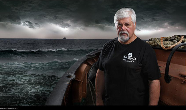 Captain Paul Watson - Founder of Sea Shepherd