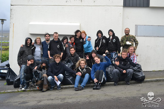 The GrindStop volunteers arrested during the August 30th grind