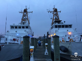 The Farley Mowat and the Jules Verne in Annapolis, Maryland