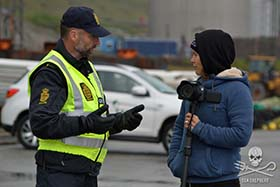 Police have explained that the ramped-up laws apply to all visitors to the Faroe Islands, not just those believed to be with Sea Shepherd. Photo: Alexandra Bennaceur