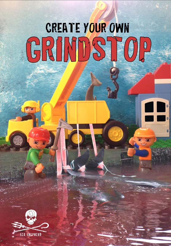 Grind created with Lego by Whale Weirdo