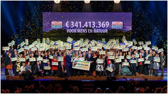 Dutch postcode lottery winners