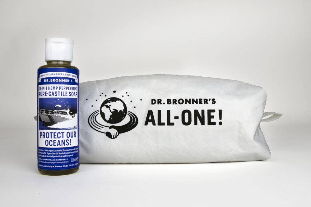 Dr Bronner Sea Shepherd Bag