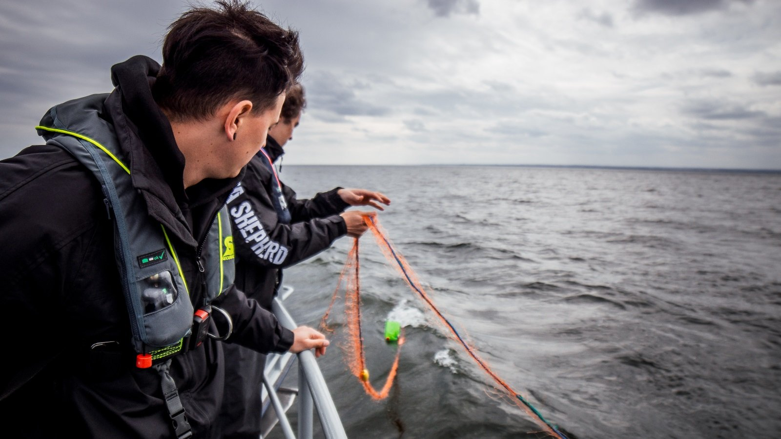 "Sea Shepherd Germany Reveals ""Silent Killers"" in the Baltic Sea"