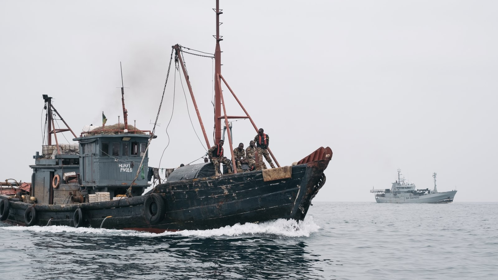 Sea Shepherd Concludes Operation Albacore III Against Illegal Fishing in Central West Africa