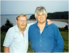 Farley Mowat and Paul Watson - circa 1993