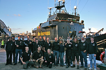 Sea Shepherd Receives Support in Sydney