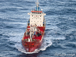 The Sun Laurel supply ship intercepted by Sea Shepherd