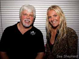 Paul Watson and Stephanie Gilmore