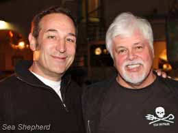 Sam Simon and Paul Watson