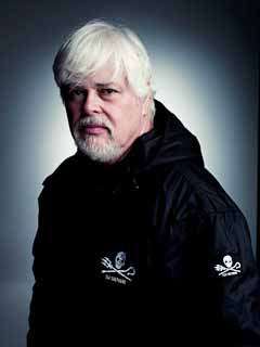 Captain Paul Watson, founder of the Sea Shepherd Conservation Society. Photo: Mike Muller