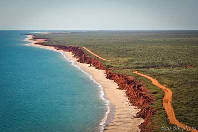 "The so-called ""Unremarkable"" part of the Kimberley Coast"