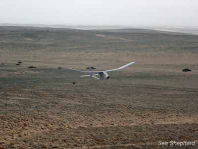 The UAV returns from a successful flight