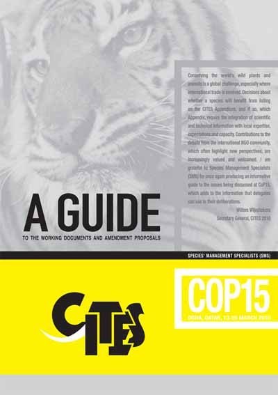 The misleading and influential CITES voting guide produced by special interest group, Species Management Specialists