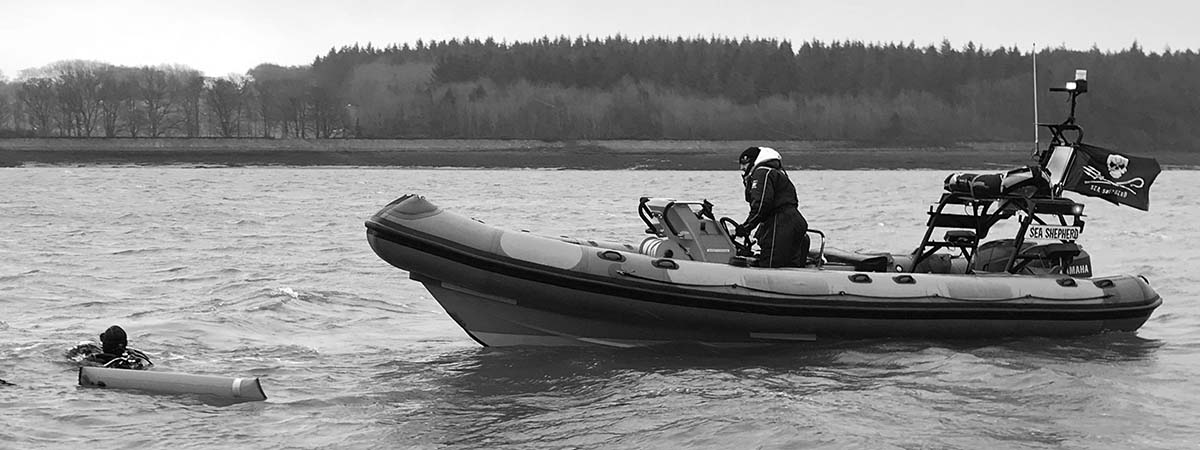 Ghost - Sea Shepherd UK's Atlantic 75 RHIB on the Ghostnet Campaign in 2018
